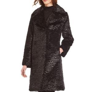 Kate Spade fur long coat